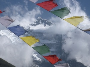 Prayer Flags in Annapurnas